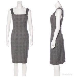Reformation Houndstooth Sheath Dress Sz 0